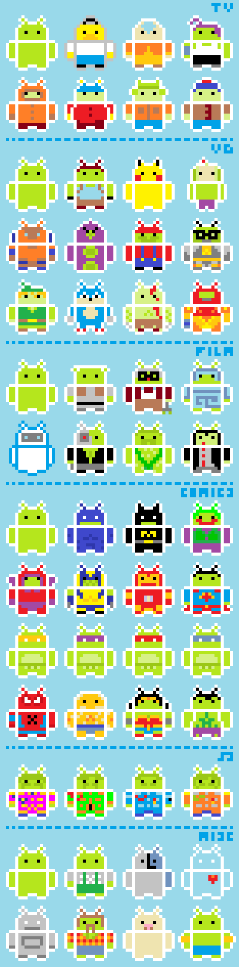 Android Dress-up
