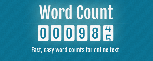 Word Count Marquee